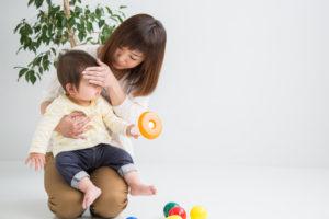 インフルエンザ ママと赤ちゃん