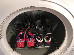 ガス衣類乾燥機の履乾燥